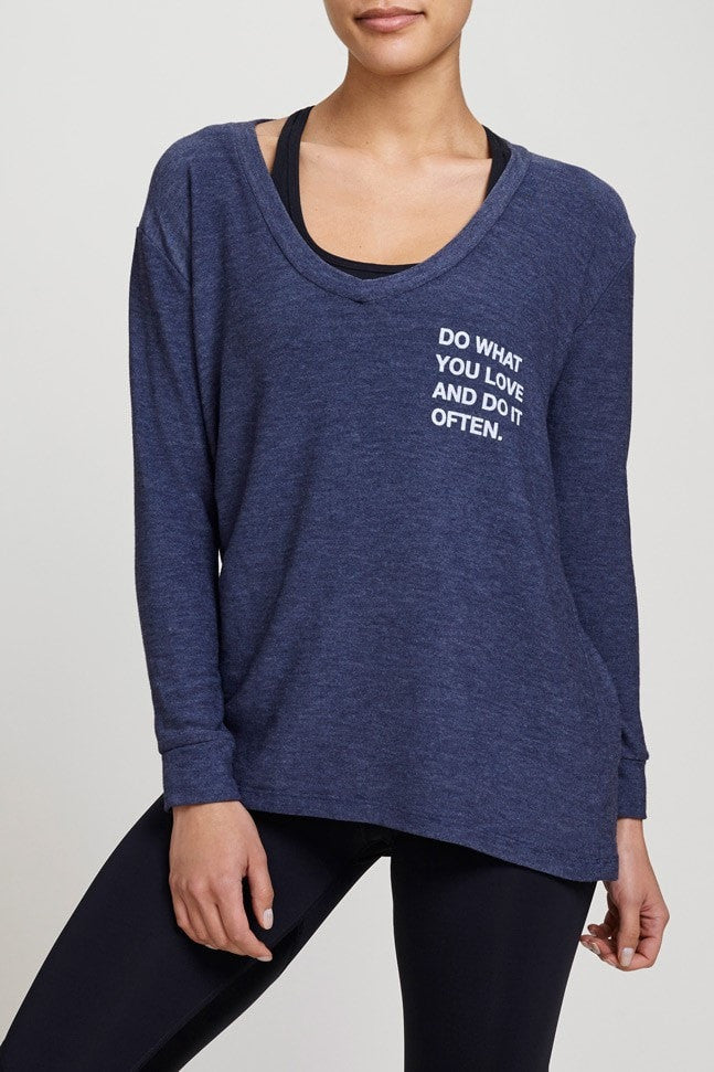 good hYOUman  Sweatshirt DO WHAT YOU LOVE AND DO IT OFTEN - THE ROMY JUJA Active - 1
