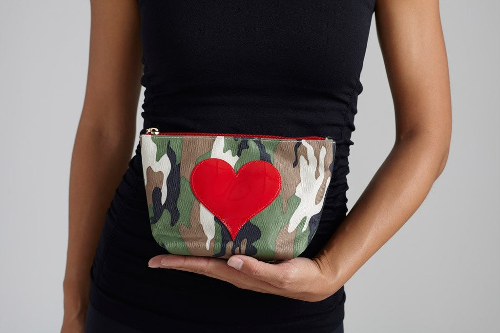 Lolo  Bag Medium Avery - Camo Red Heart JUJA Active