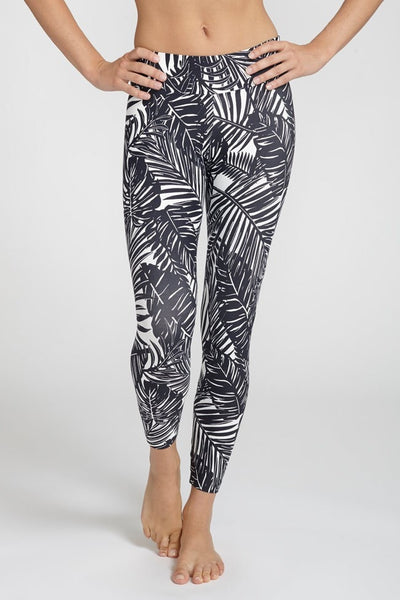 Liquido-Legging-JUJA Active-Palm B&W Legging