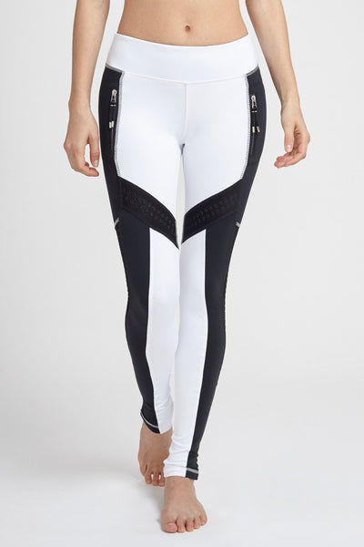 Lukka Lux-Legging-JUJA Active-Okami Legging - Optic White