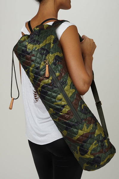 MZ Wallace-Bag-JUJA Active-MZ Wallace Metro Yoga Mat Bag - Camo