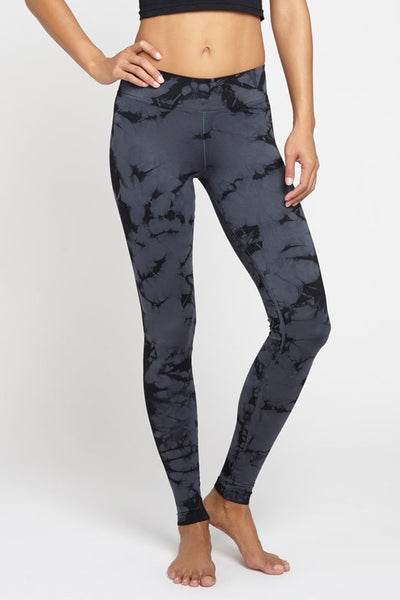NUX  Legging V Ankle Pant - Midnight JUJA Active - 1