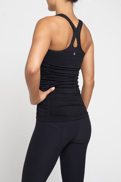 NUX  Tank Newly Charmed Tank - Black JUJA Active - 2