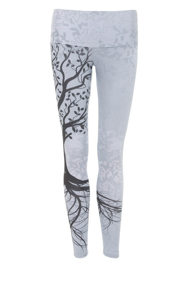 Nóli-Legging-JUJA Active-Tree of Life Legging - White