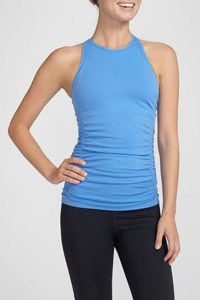 NUX-Shelf Bra-JUJA Active-Spellbound Cami - Provence Blue