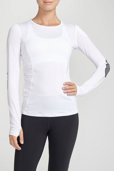 Pheel-Long Sleeved Tee-JUJA Active-Vital Layer - White