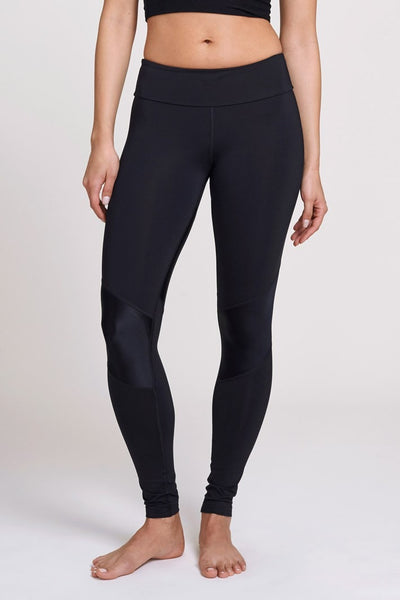 Pheel  Legging Getaway Long Pant - Black Shiny JUJA Active - 1