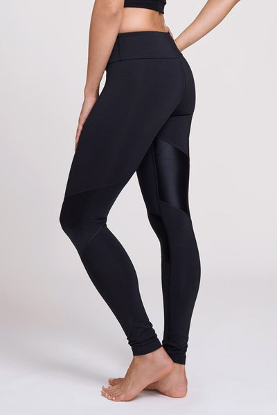 Pheel  Legging Getaway Long Pant - Black Shiny JUJA Active - 2