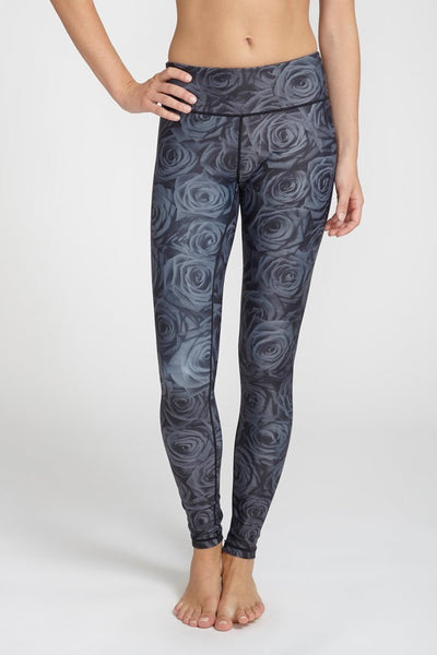Pop Active-Legging-JUJA Active-Black Rose Legging