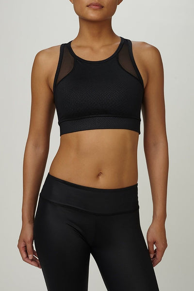 TLF-Bra Top-JUJA Active-Cusp Bra - Black Mamba