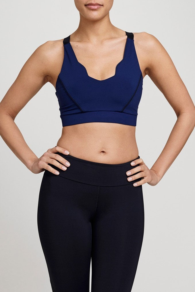 Track & Bliss  Bra Top Into The Blue Sports Bra JUJA Active - 1