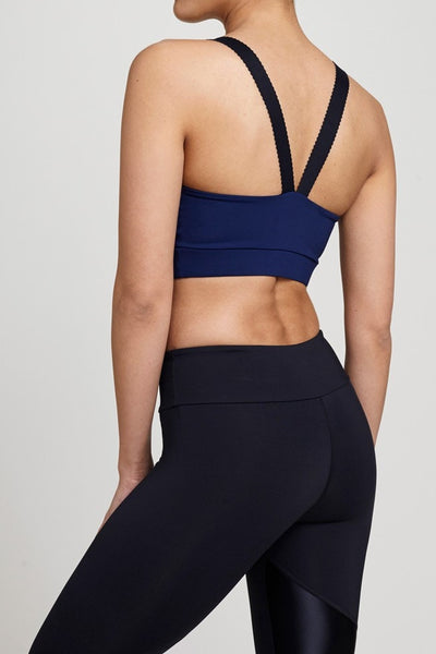 Track & Bliss  Bra Top Into The Blue Sports Bra JUJA Active - 2