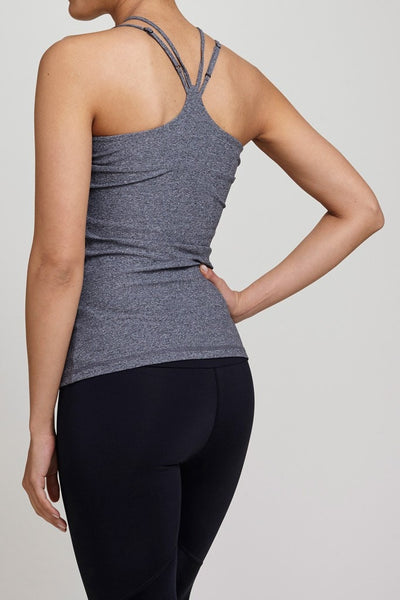 Track & Bliss  Tank Dash Criss Cross Top JUJA Active - 2