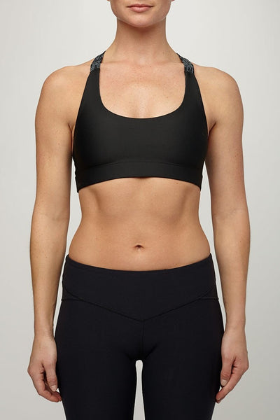 Uintah Collection-Bra Top-JUJA Active-Serena Bra Top in Black