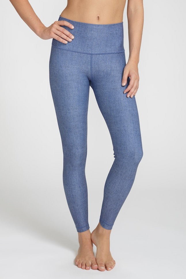 W.I.T.H.-Legging-JUJA Active-Indigo Serge High Waisted Legging