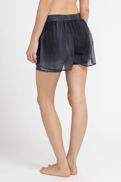 W.I.T.H.-Shorts-JUJA Active-Butterfly Mesh Short - Black Adder