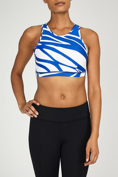 W.I.T.H.-Bra Top-JUJA Active-Racerback Bra - Midnight Blue
