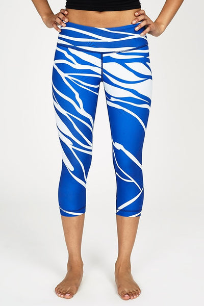 W.I.T.H.-Capri-JUJA Active-Midnight Royal Blue Capri