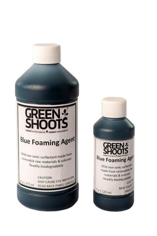Blue Foaming Agent - [4 oz - TEMPORARILY OUT OF STOCK]
