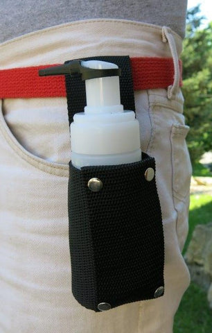 Belt Holster for Small Foam Herbicide Dispenser