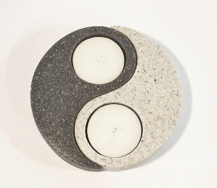 Ying Yang Tea Light Candle Holders
