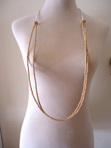 Double Simple Loop Necklace