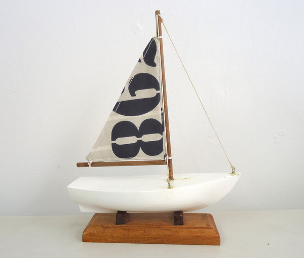 Wooden Toy Boat