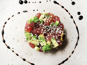 Avocado Tuna Tartar Recipe with Red Label Balsamic Vinegar
