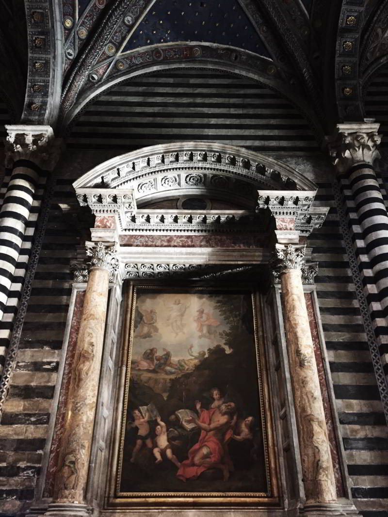 Cathedral of Siena Painting