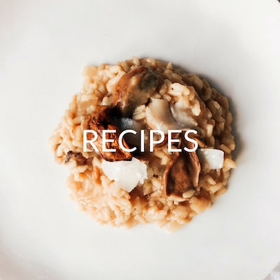 Porcini Mushrooms Risotto - The Red Beetle Recipes