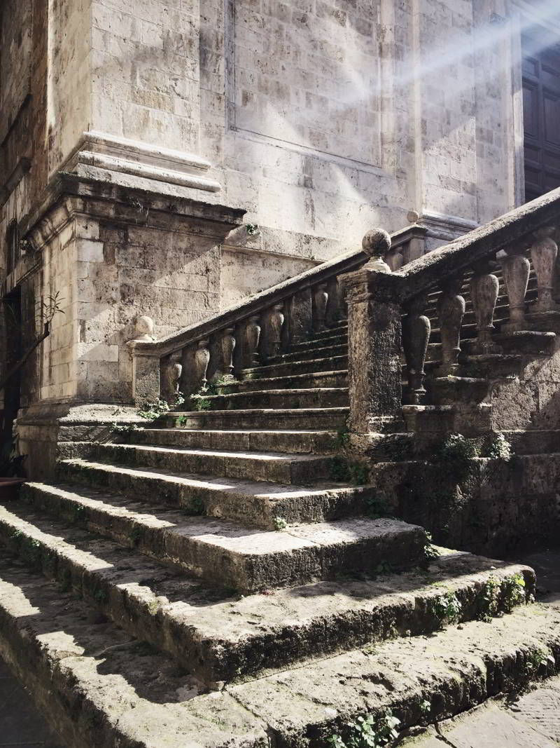 Siena Church Steps