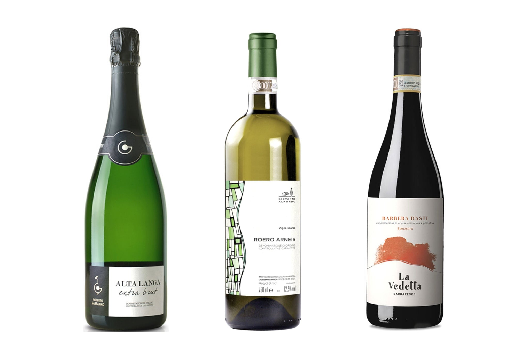 A Journey through Piedmont Wines. Case of 6 Bottles