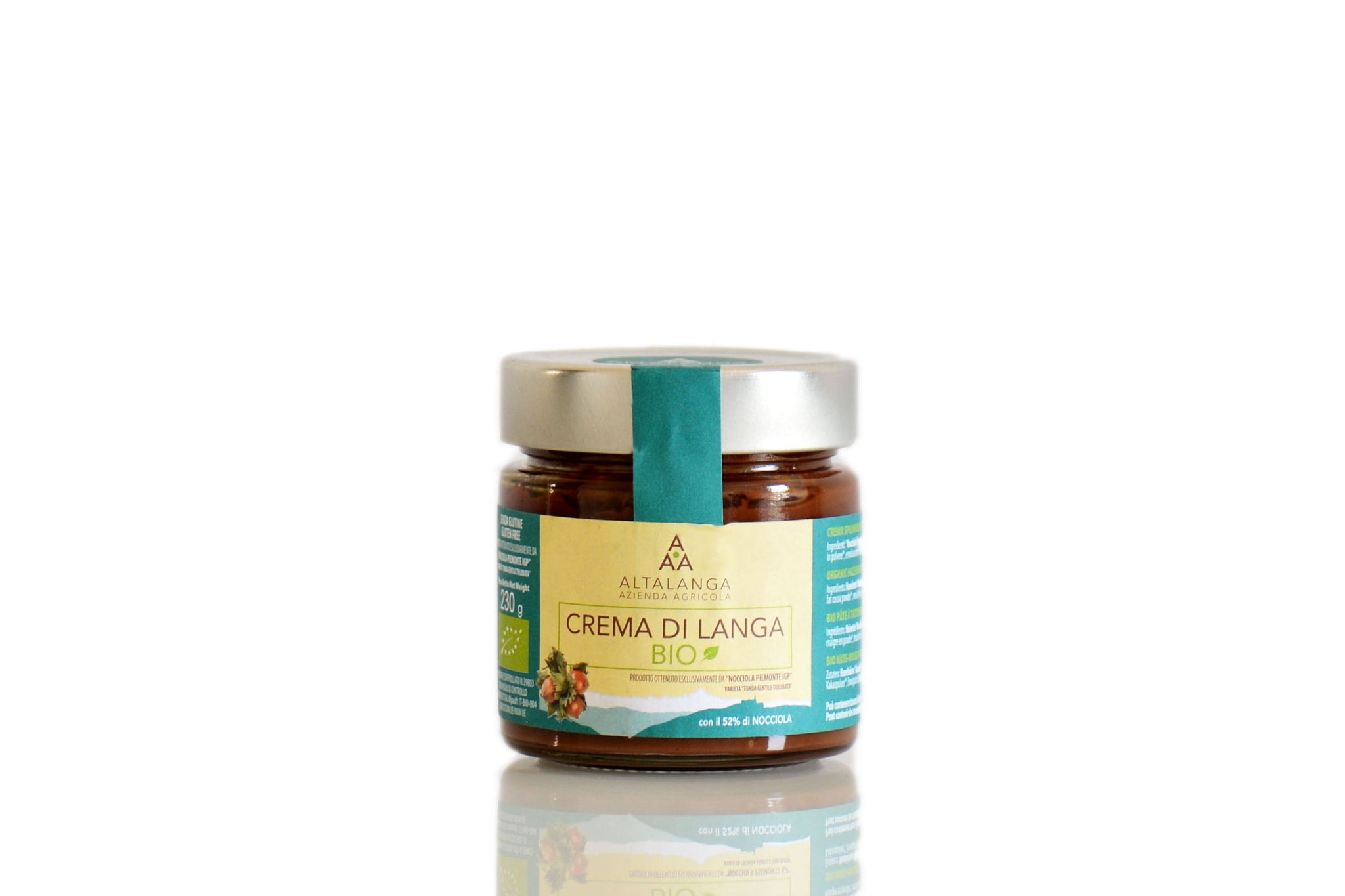 Altalanga Organic Hazelnut Spread - No Palm Oil Nutella - Hazelnut Cream - Shop the Red Beetle