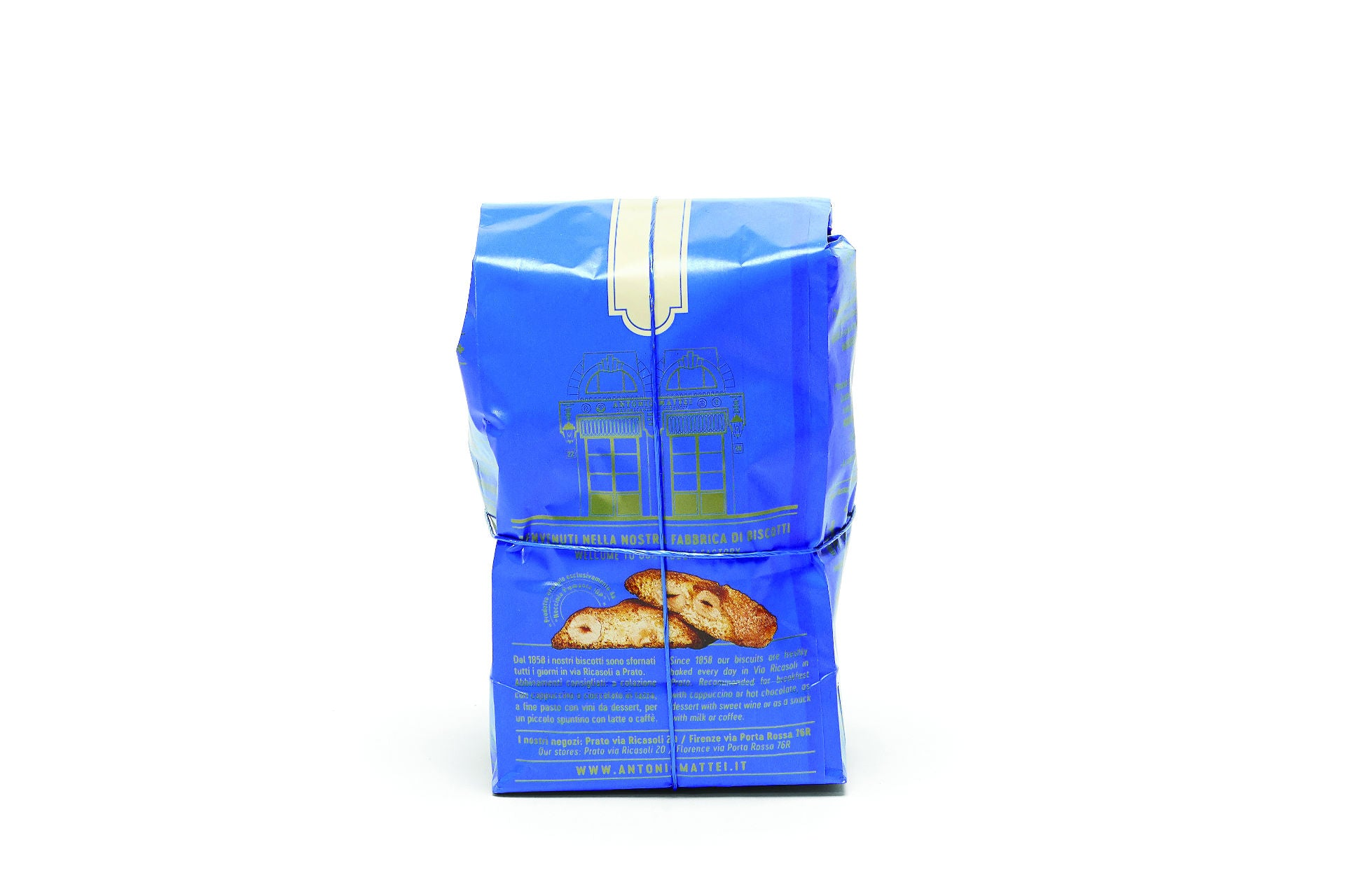 Antonio Mattei Hazelnuts Cantucci Made in Prato, Tuscany - Shop at the Red Beetle