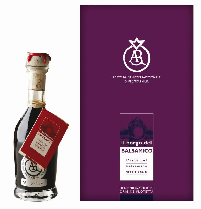 Il Borgo del Balsamico Balsamic Vinegar Reggio Emilia Silver Label Aged - the Red Beelte Travelling Food