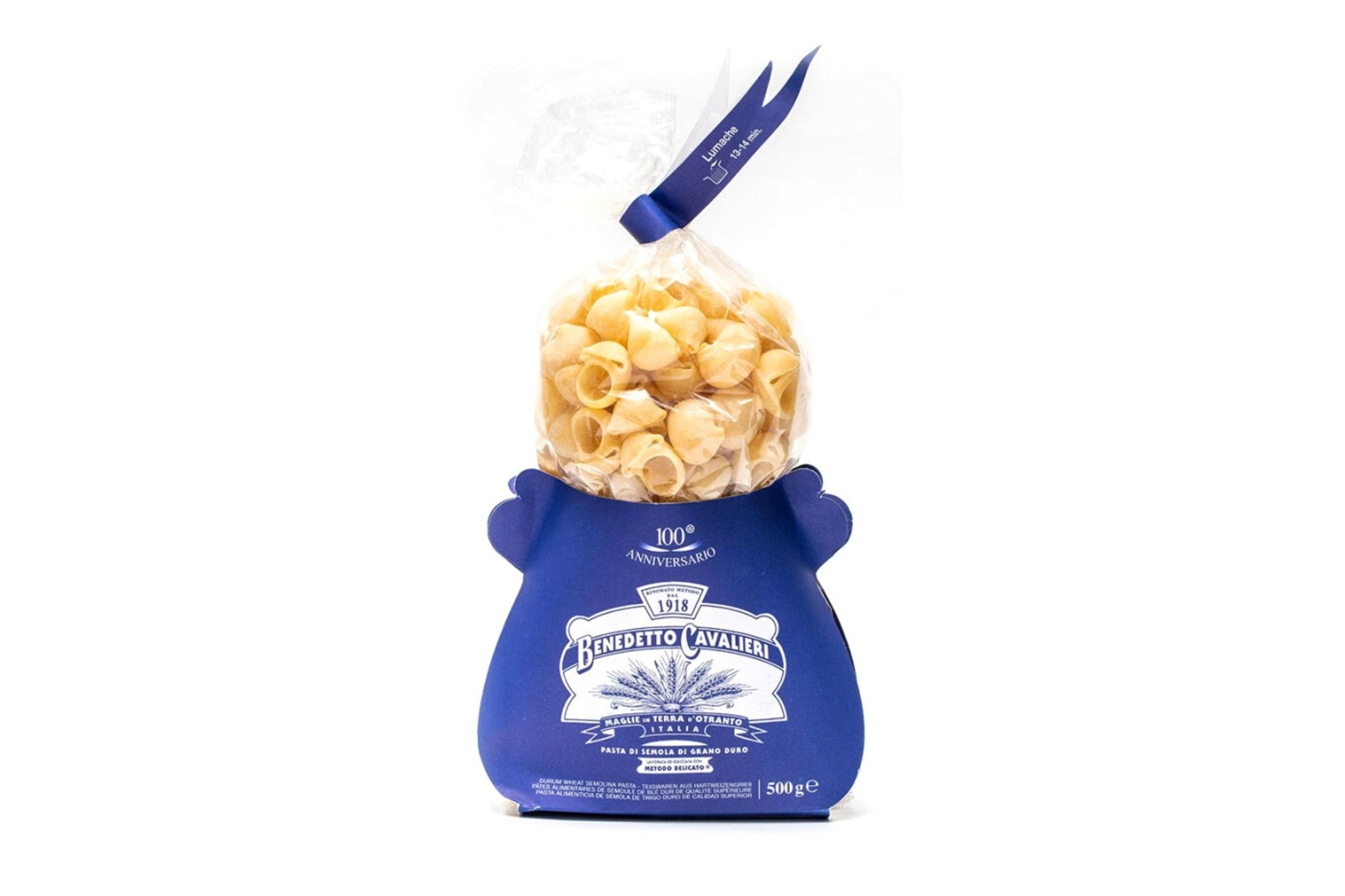 Benedetto Cavalieri Lumache 500g | Bronze cut pasta made in Apulia