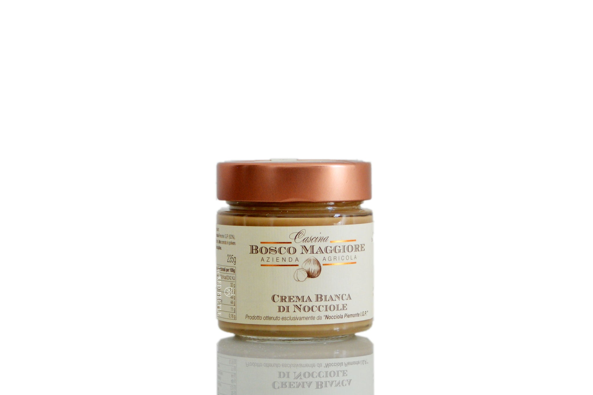White Hazelnut Spread from the Langhe Unesco Heritage Site 230g