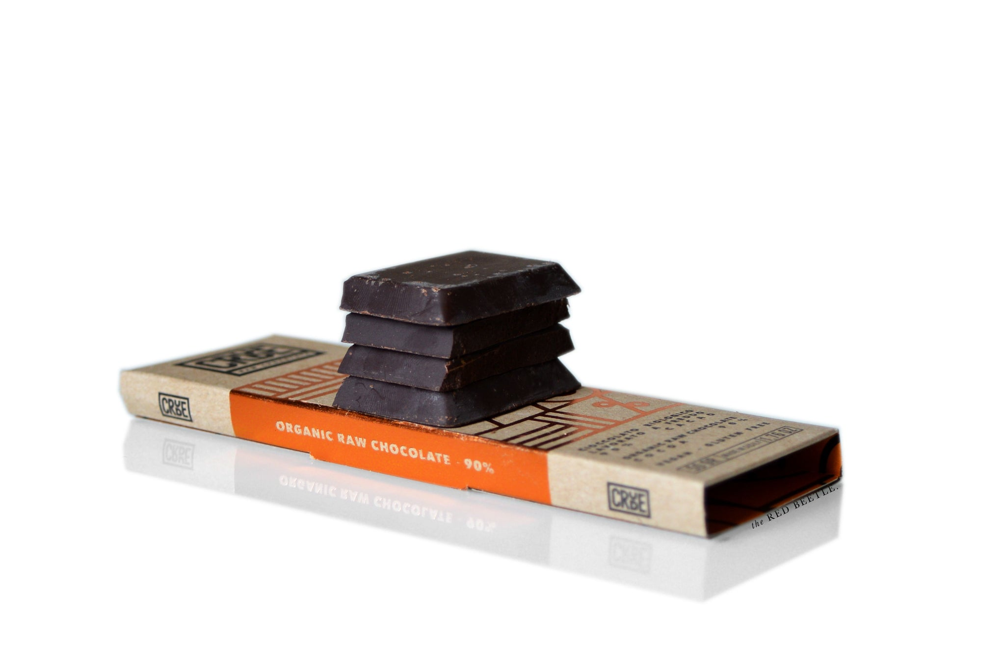 Crude by Sabadì Raw Chocolate Bar 90% cacao with coconut flower sugar | Vegan & Gluten Free