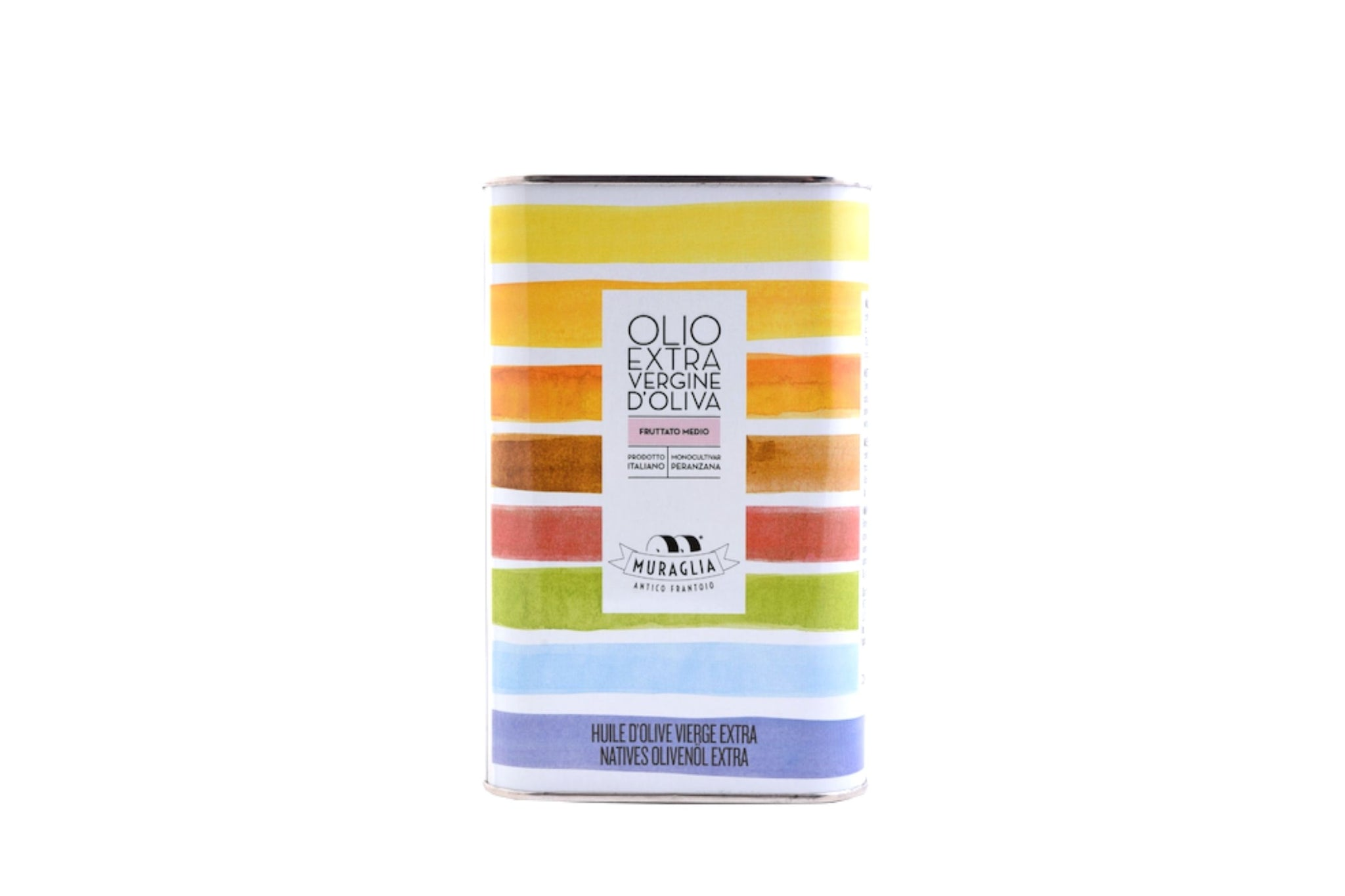 Frantoio Muraglia Peranzana Medium Fruity Extra Virgin Olive Oil 1L Tin