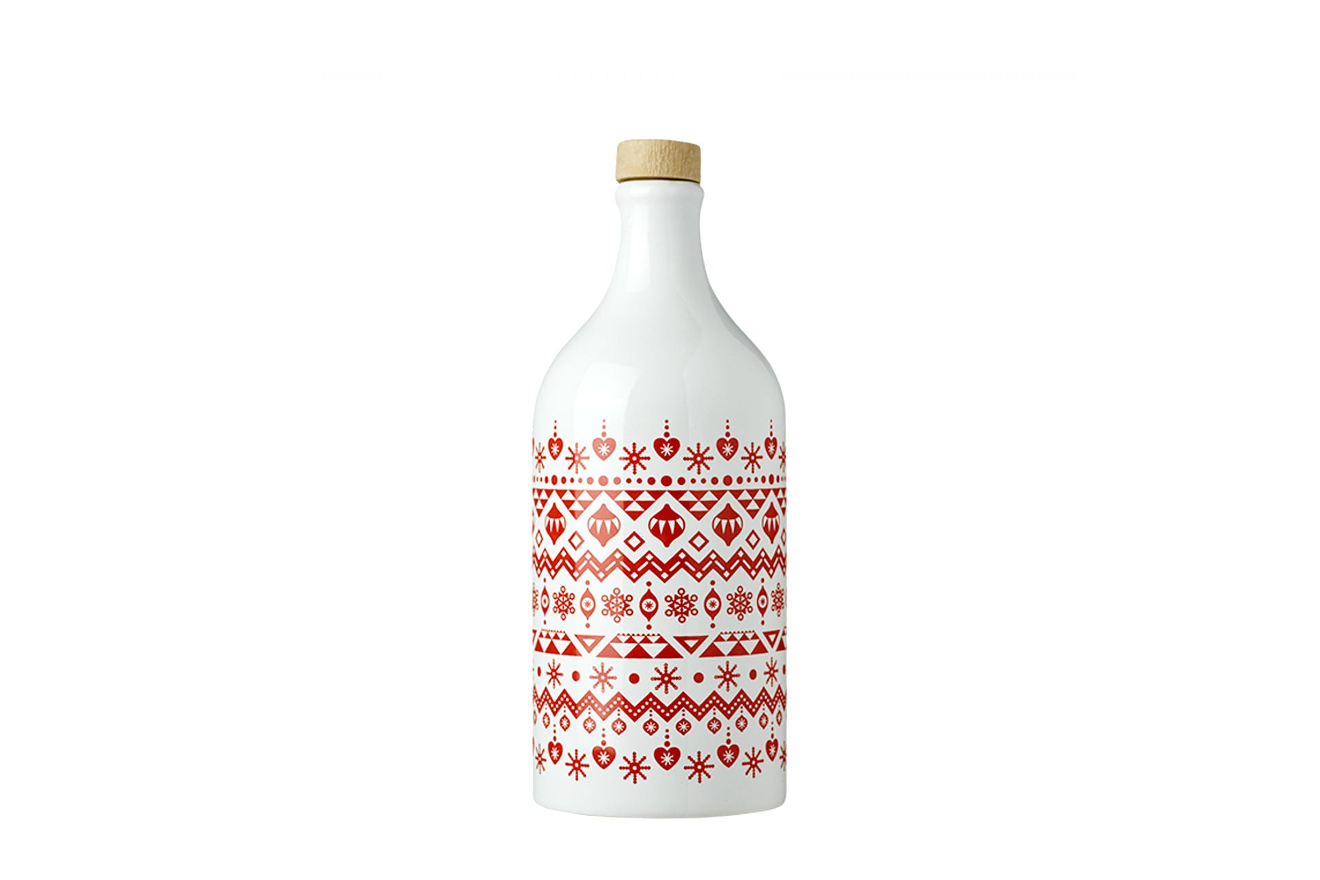 Limited Edition Knitting Collection Intense Fruity Extra Virgin Olive Oil in Handmade Ceramic Bottle 500ml