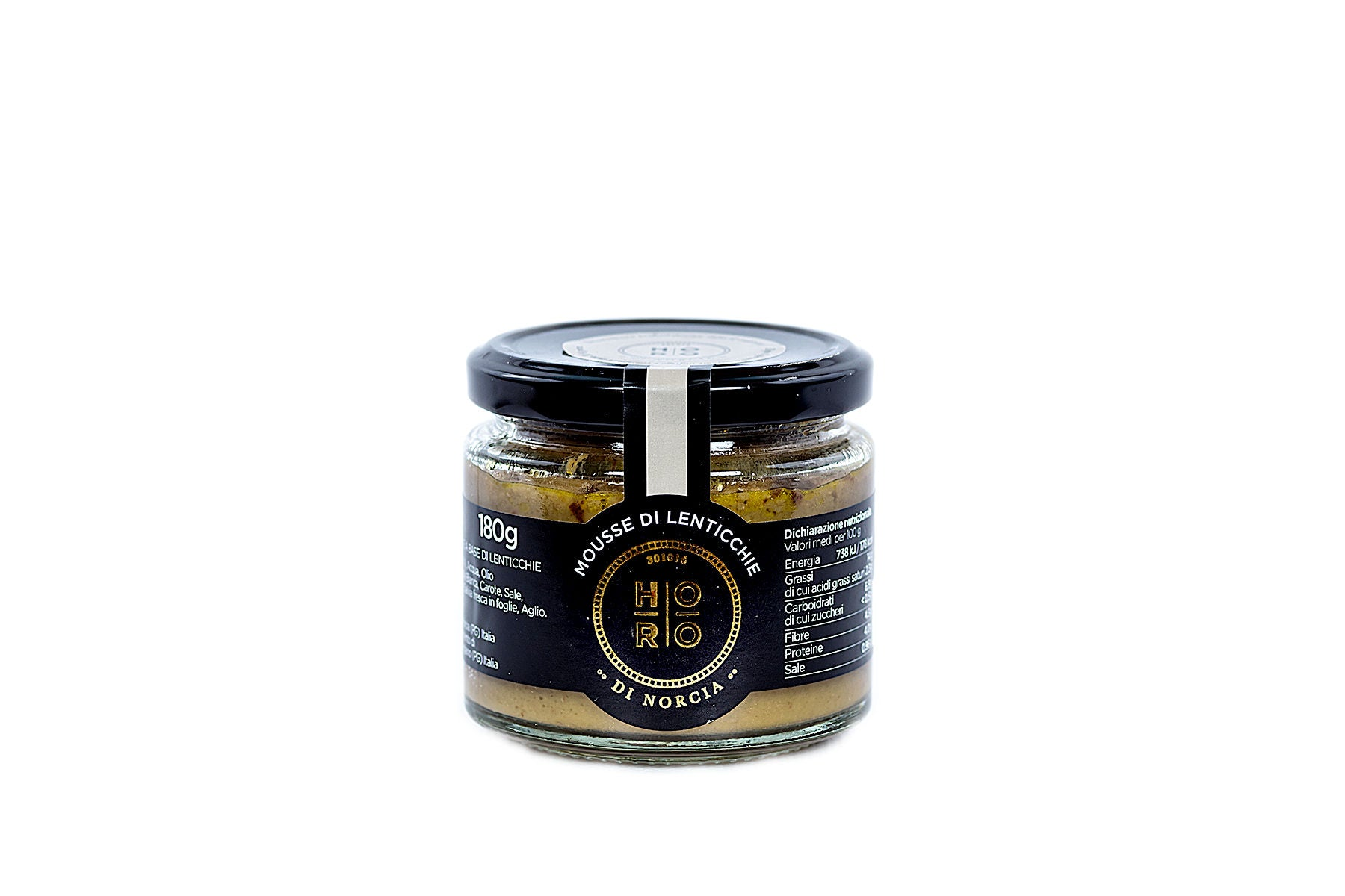 Horo di Norcia Umbrian Lentil Mousse with Extra virgin Olive Oil 180g