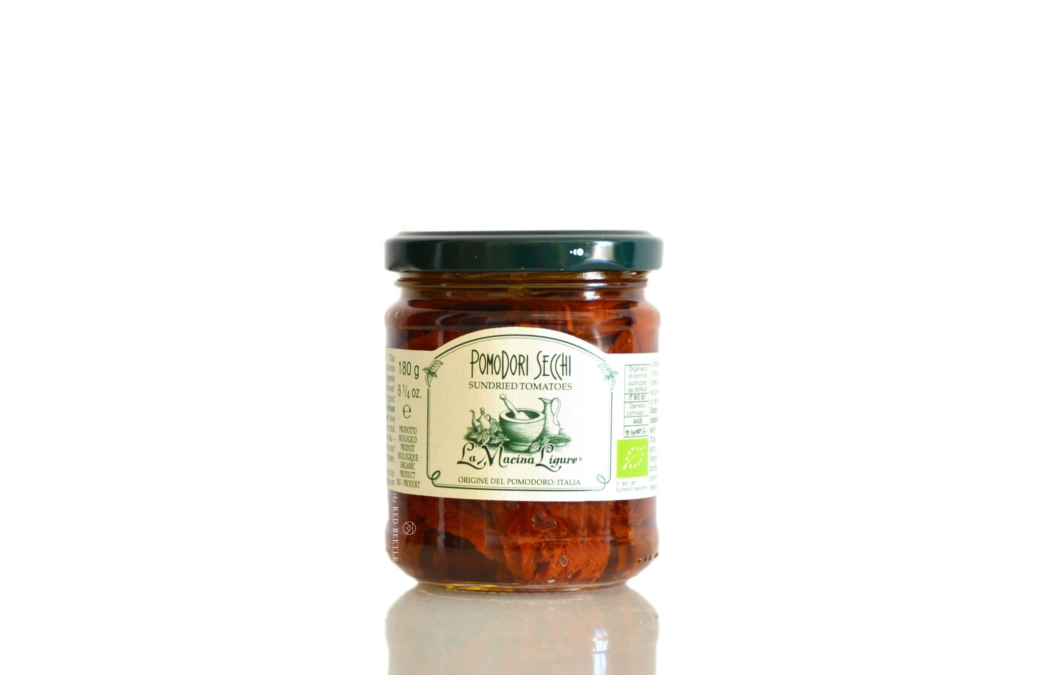 Organic Sundried Tomatoes in Extra Virgin Olive Oil 180g