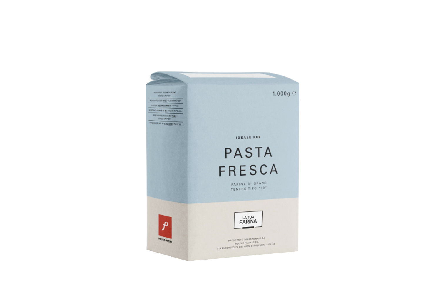 Plain Flour Ideal for Fresh Pasta 1KG