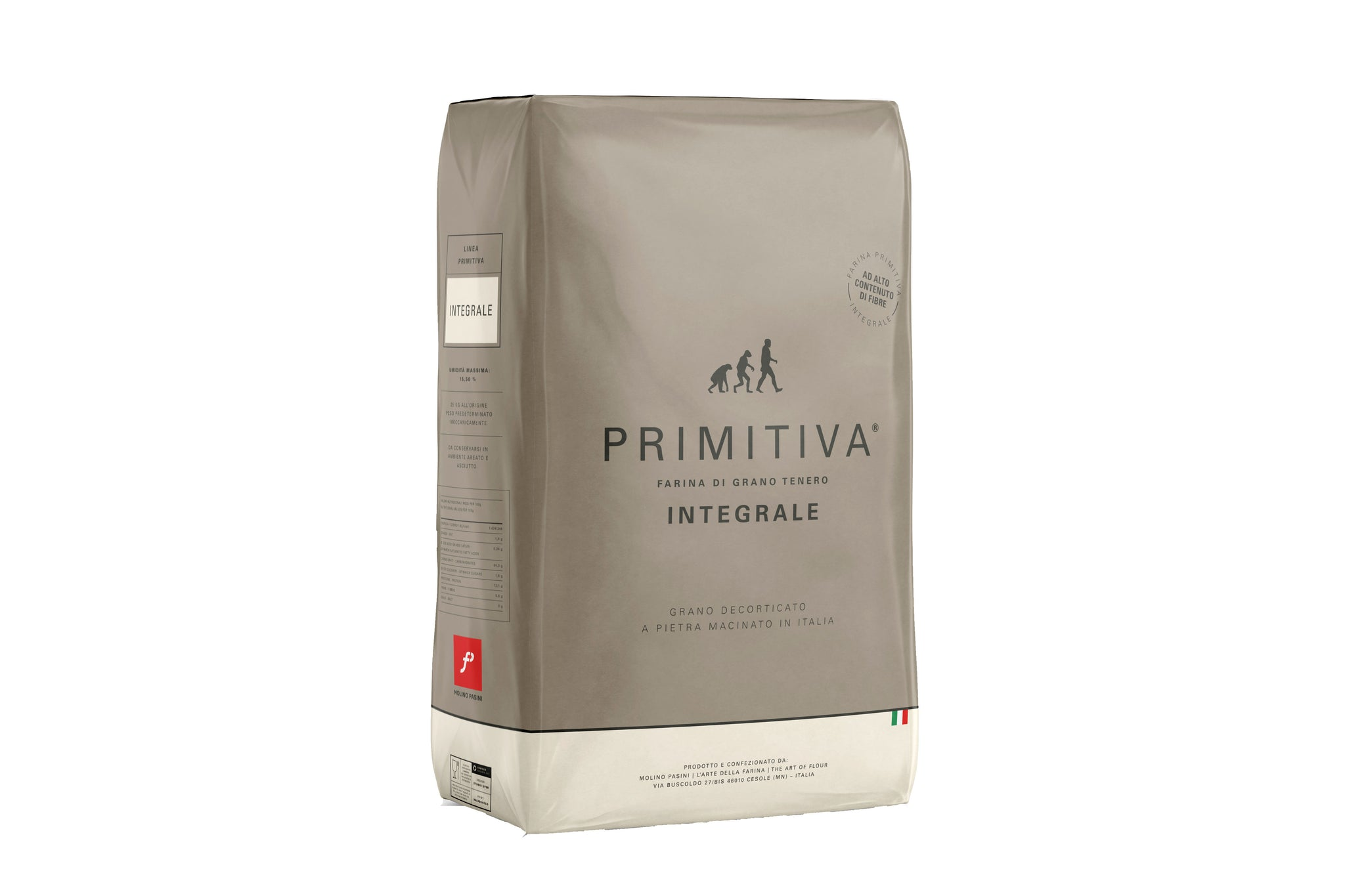 Primitiva Soft Wholewheat Flour Ideal for Pizza Bread and Pastry 10KG