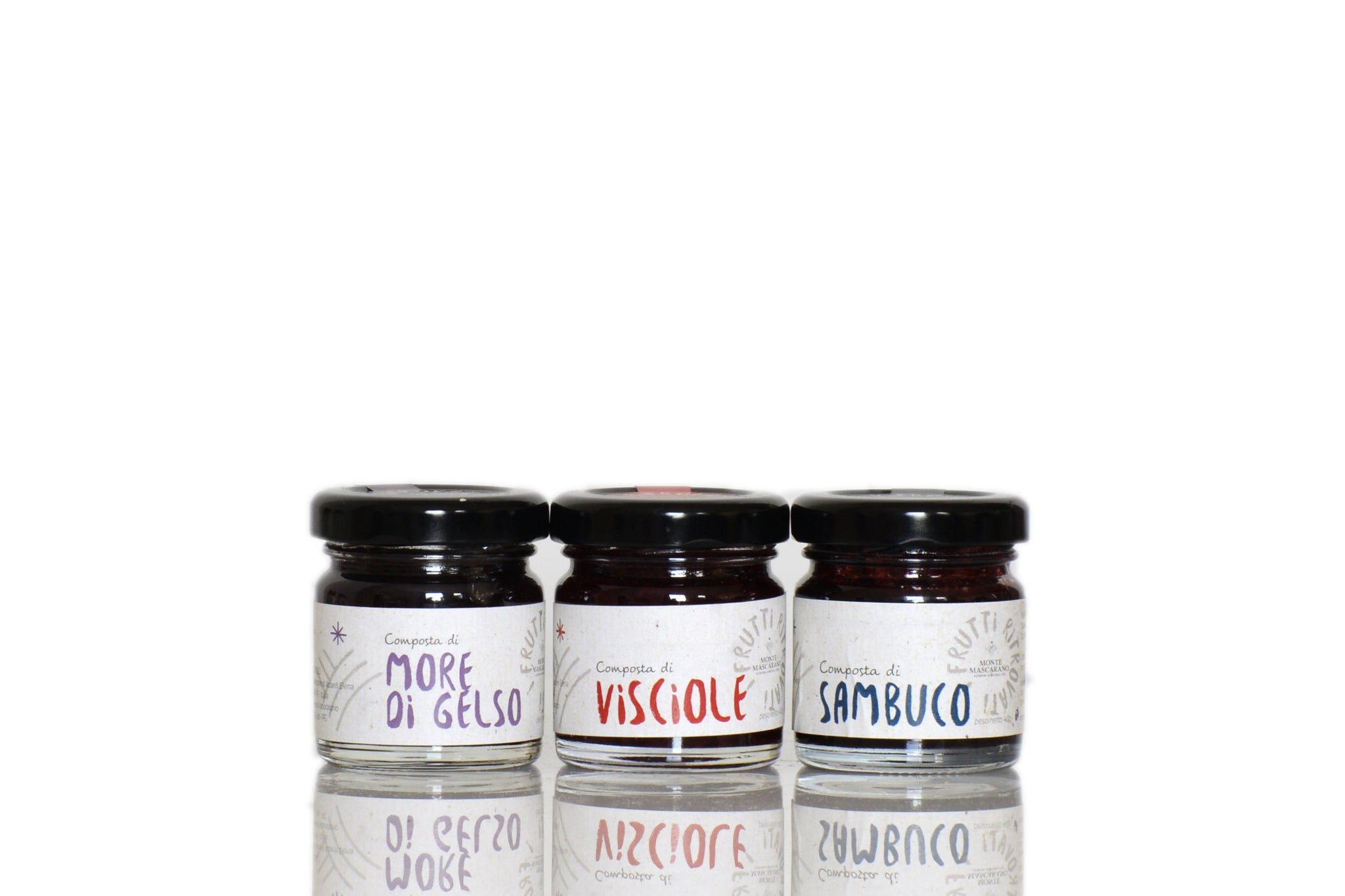 Monte Mascarano Lost Fruit Jam Collection 40g | Stocking Fillers