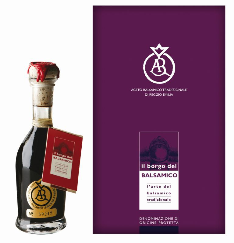 Il Borgo del Balsamico Balsamic Vinegar Reggio Emilia Gold Label Aged 25 Years - the Red Beelte Travelling Food