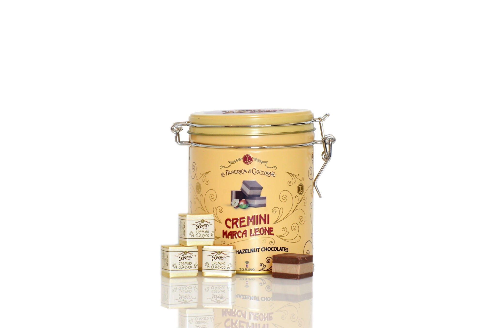 Pastiglie Leone Cremini Chocolate Hazelnut Praline from Piedmont | Shop the Red Beetle