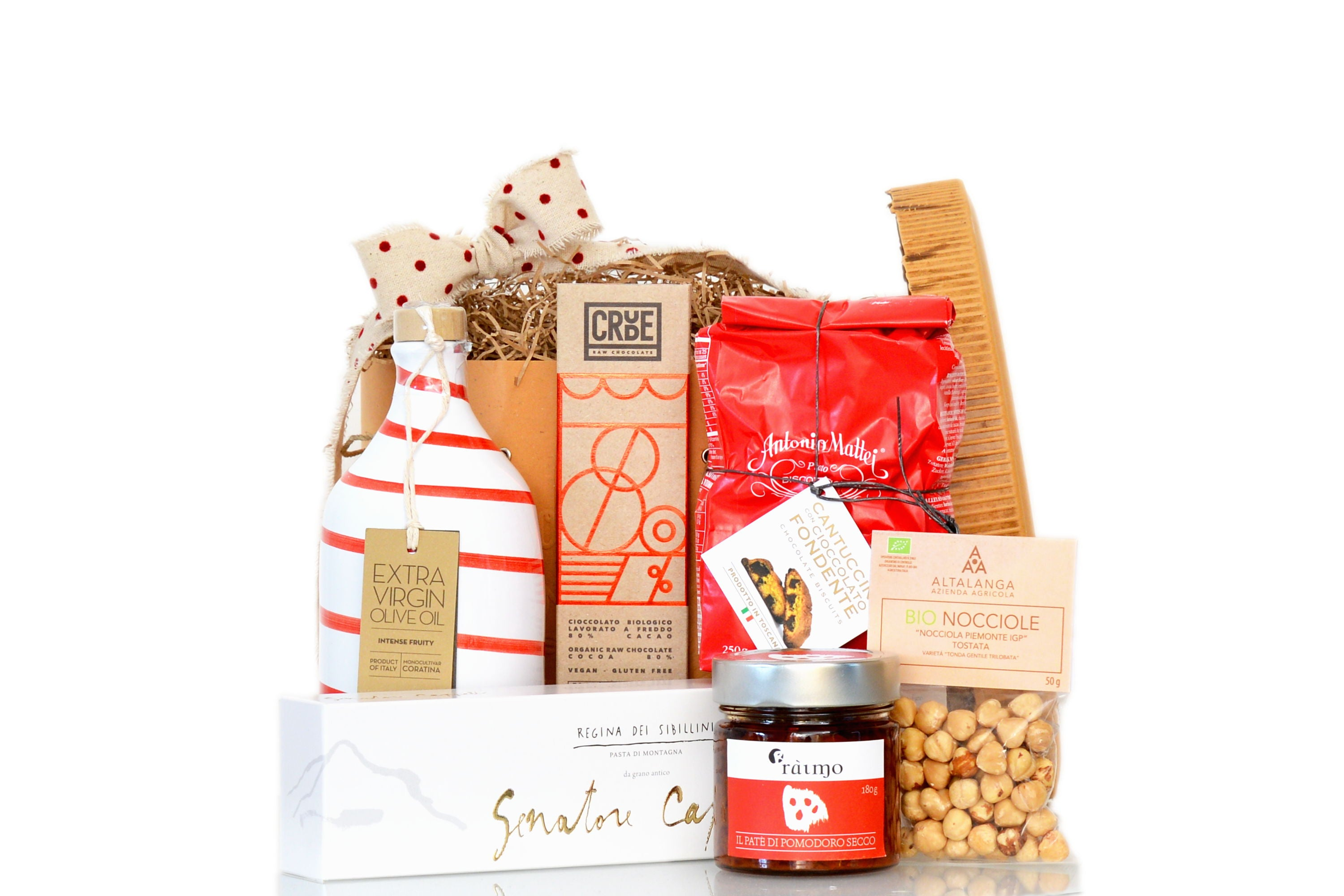 Authentic italian food shop free uk shipping the red beetle red christmas hamper authentic italian food exclusive at the red beetle negle Choice Image
