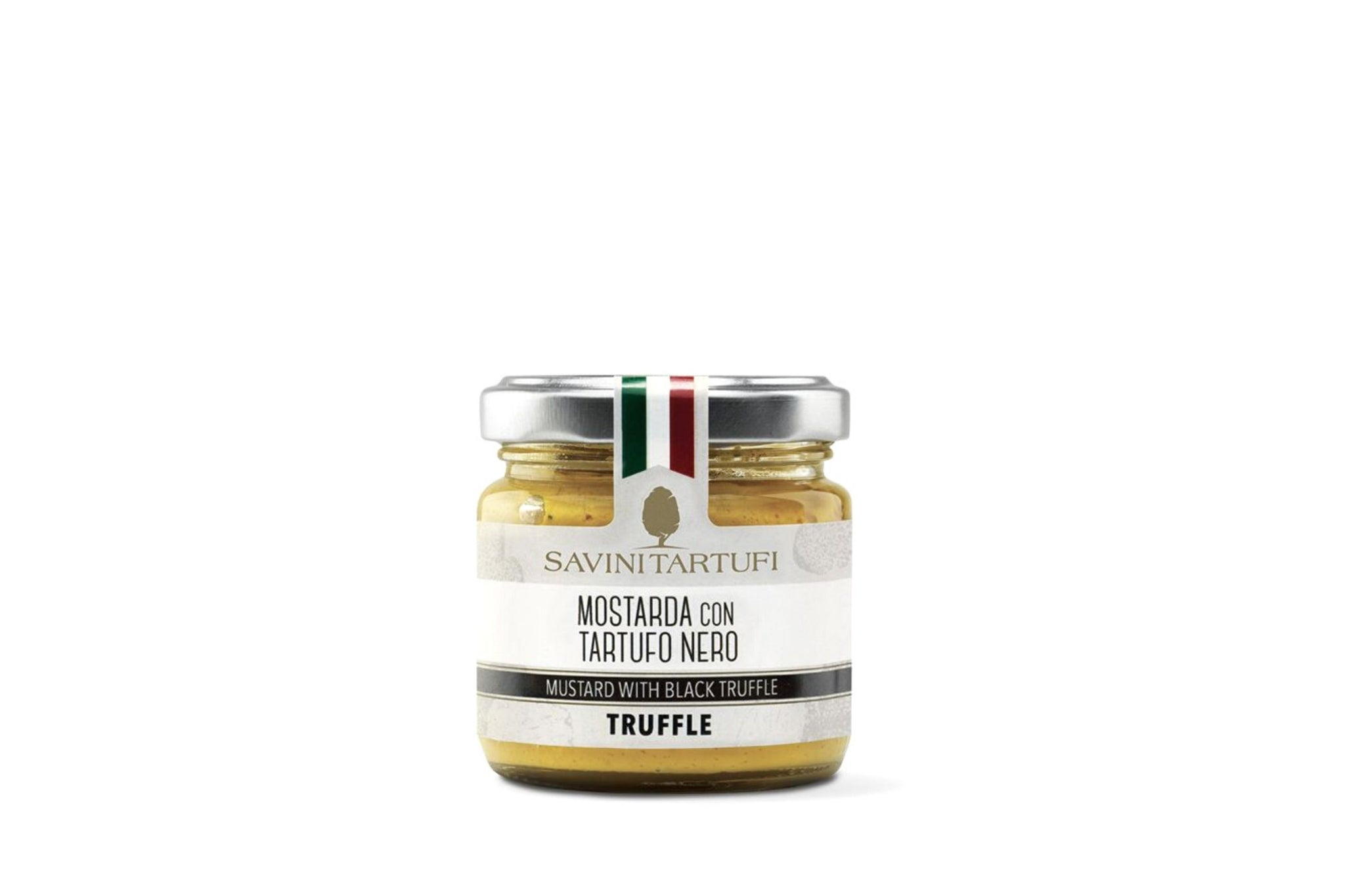 Savini Tartufi Mustard with Black Truffle Cream 90g