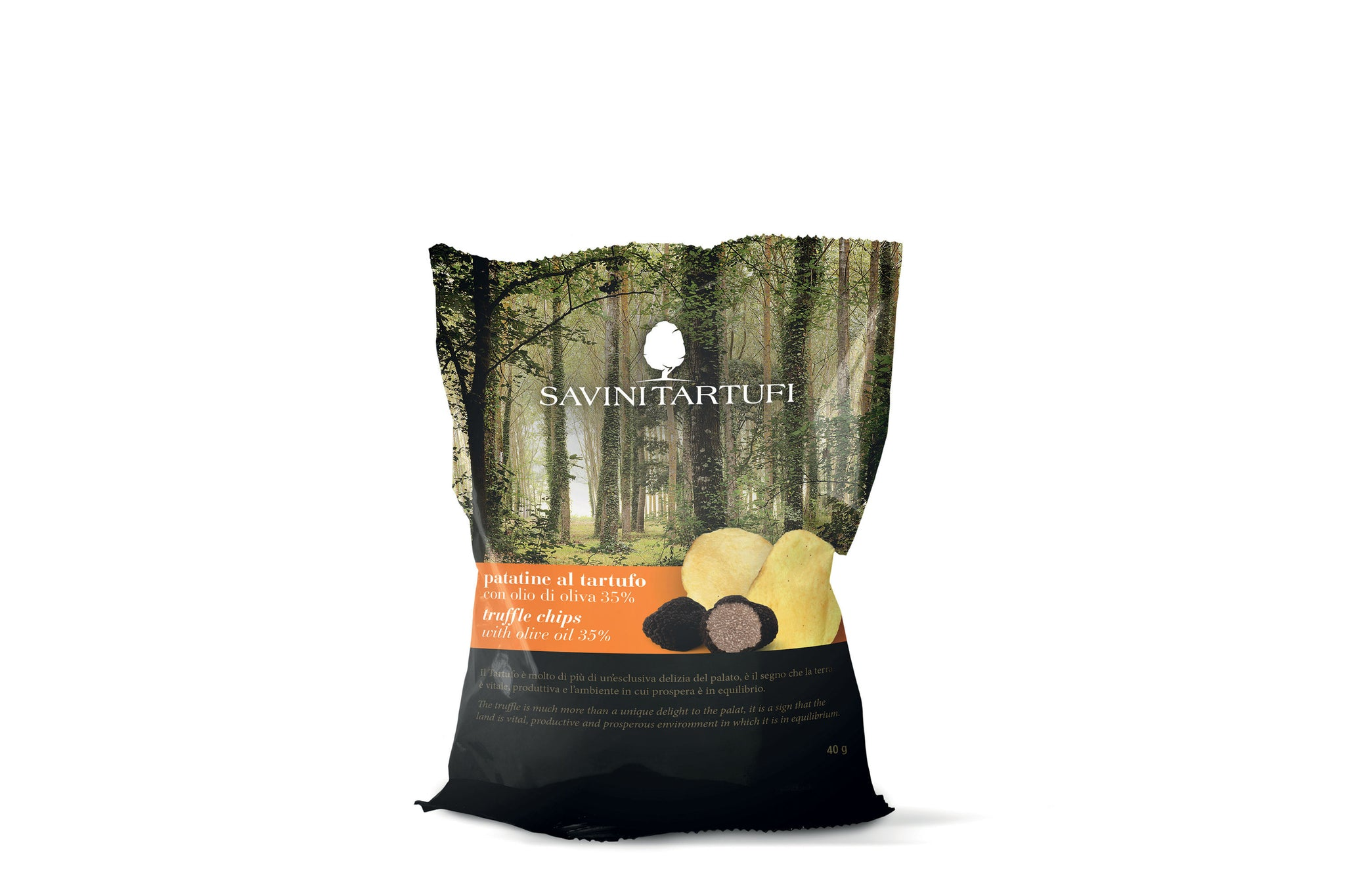 Savini Tartufi Truffle Chips 40g | Shop Italian Food